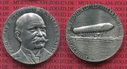 Medaille Zeppelin Silbermedaille Zeppelin Medaille Silber 0hne jahr Ersatufstieg 1900/ Graf Zeppelin