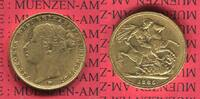Sovereign Goldmünze für Australien M 1885 England  Great Britain UK Aus... 375,00 EUR  +  8,50 EUR shipping