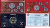 Frankreich France Kursmünzensatz 1 Ct - 50 Francs Frankreich Kursmünzensatz 1980 1 Centime bis 50 Francs in Folie