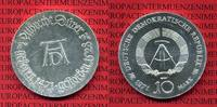 10 Mark DDR Silber Gedenkmünze 1971 DDR GDR Eastern Germany DDR 10 Mark... 30.34 US$ 27,00 EUR  +  9.55 US$ shipping