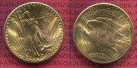 USA 20 Dollars Gold St. Gaudens Double Eagle USA 20 Dollars 1927 Gold St. Gaudens Typ Double Eagle
