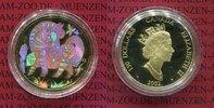 Kanada 150 Dollars Goldmünze mit Hologramm Jahr des Pferdes, Lunar Serie mit Kinegramm, Year of the Horse