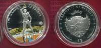 Palau 1 Dollar Kupfer versilbert Farbmünze Der Koloss von Rhodos 1 Dollar 2009 Colossus of Rhodes