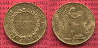 100 Francs Goldmünze, Goldcoin 1911 Frankr...