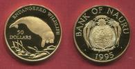 50 Dollars Gold 1995 Nauru Nauru 50 Dollar...