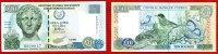 Zypern, Cyprus 5 Pfund Lira Zypern, 10 Lira  1.9.1997 Antiker Frauenkopf Tiere  Ser G000017