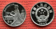 5 Yuan Silber Gedenkmünze 1992 China Volksrepublik, PRC China 5 Yuan 19... 79,00 EUR  +  8,50 EUR shipping