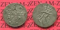 Gröschel 1787 B Brandenburg Preußen Preußen Friedrich Wilhelm II. 1 Pfe... 75,00 EUR  +  8,50 EUR shipping