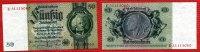 Deutschland 1933-1945 20 Mark Reichsbanknote 20 R- Mark 22.1.1929 Hansemann Unterdruck L Serie E 1941-42 Zwischenform