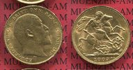 Sovereign, 1 Pfund Goldmünze 1909 England  Great Britain UK England 190... 325,00 EUR  +  8,50 EUR shipping