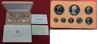 Cook-Inseln, Cook Islands Proof Set 1 Cent - 5 Dollar Cook Islands KMS Proof Set 1976 1 Cent bis 5 Dollar