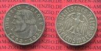 5 Reichsmark Silbermünze 1933 A III. Reich Third Reich 450. Geburtstag ... 110,00 EUR  +  8,50 EUR shipping