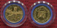 250 Gulden Gold 1990 Surinam Suriname Socc...