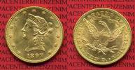 10 Dollars Gold,  Eagle Coronet Head 1897 USA USA 10 Dollars Liberty, F... 695,00 EUR  +  8,50 EUR shipping