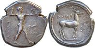 Kalabrien, Bruttium, Kaulonia,Stater 500-480 v.Chr.
