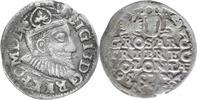 Polen,Sigismund III.,1587-1632.3 Groschen 1595,Posen.