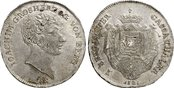 Taler, sog. Cassataler 1807 JÜLICH KLEVE BERG Joachim Murat, 1806-1808 Joachim Murat, 1806-1808: Herrliche Tönung, winziger Kratzer, fast St
