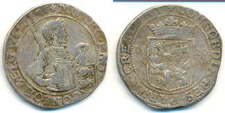 Reichstaler 1620 Niederlande Westfriesland Provinz:  ss, gut ausgeprägt