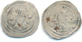 Pfennig Laufen  Salzburg Erzbistum: Adalbert III, 1168-1177 und 1183-1200: ss
