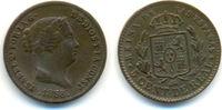 Spanien: 5 Centimos de Real Isabella II, 1833-68: