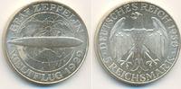 Weimarer Republik: 5 Reichsmark Zeppelin