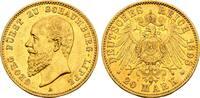 Kaiserreich: Schaumburg Lippe: 20 Mark GOLD 1898 A