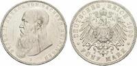 5 Mark 1908 D. SACHSEN-MEININGEN Georg II....