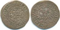Salm Kirburg: 3 Kreuzer Otto I. zu Kirburg, 1548-1607: