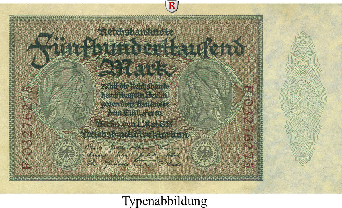 500000 Mark 1923-05-01 Inflation 1919-1924 I