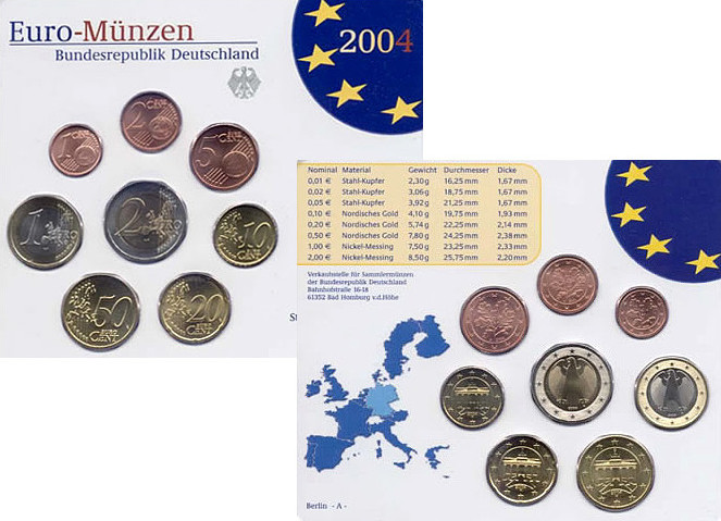 Euro-Kursmünzensatz 2003 Kursmünzensätze st