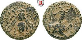 Bronze 387-295 v.Chr. Ionien Ephesos s-ss