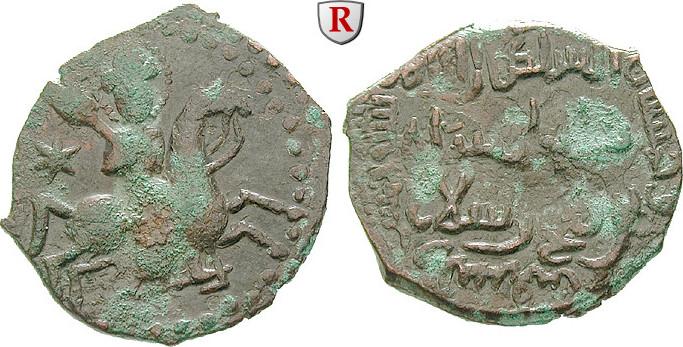 Fals 1196-1204 Seldschuken von Rum Rukn al-Din Sulayman, 1196-1204 ss-vz, belegt