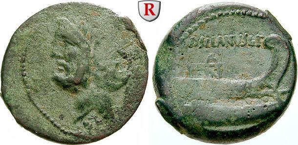 As  D. Silanus, 91 v.Chr. ss
