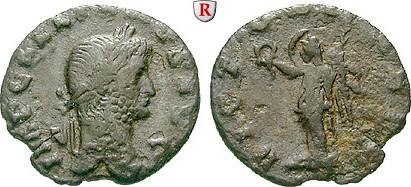 Denar 265-26 Gallienus, 253-268 f.ss