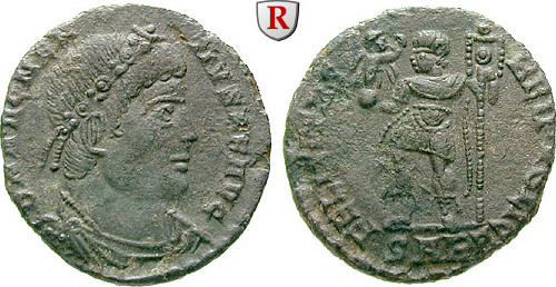 Bronze 350-353 Magnentius, 350-353 ss+