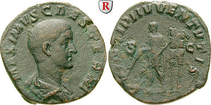 Sesterz 236-238 Maximus, Caesar, 235-238 ss