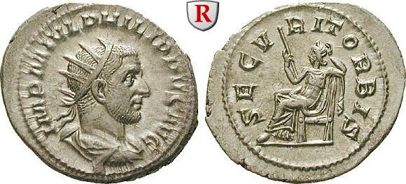 Antoninian 244-247 Philippus I., 244-249 st