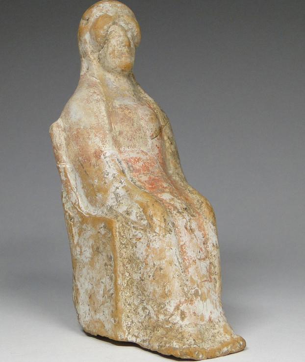 Statuette Griechenland Objekte aus Ton