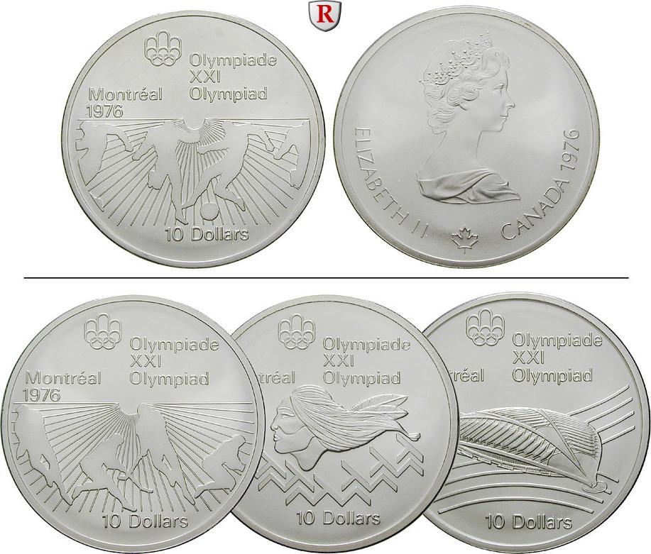 10 Dollars 1973-1976 Kanada Elizabeth II., seit 1952 st / PP