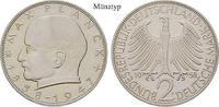 Klein- und Kursmünzen 2 DM 2 DM 1971, J, Cu-Ni. Planck. J.392.