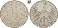 Klein- und Kursmünzen 5 DM 5 DM 1957, F. J.387.
