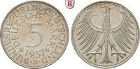 Klein- und Kursmünzen 5 DM 5 DM 1957, D. J.387.