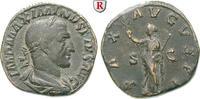 Sesterz 235-236  Maximinus I., 235-238 ss+, schöne dunkle Patina  300,00 EUR  zzgl. 6,50 EUR Versand