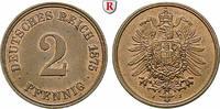 Klein- und Kursmünzen 2 Pfennig 2 Pfennig 1875, J, Cu. J.2.