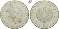 Gedenkprägungen 10 Euro 10 Euro 2011, nach unserer Wahl, A-J, Cu-Ni. Frauenfußball-WM in Deutschland.
