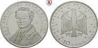 Gedenkprägungen 10 Euro 10 Euro 2013, F, Cu-Ni. Büchner.