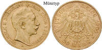 20 Mark 1890-1913 Preussen Wilhelm II., 1888-1918, Gold, 7,965 g ss, Ta... 310,00 EUR  zzgl. 6,50 EUR Versand