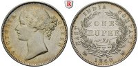 Indien Rupee Britisch-Indien, Victoria, 1837-1901