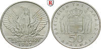 Griechenland 50 Drachmai Konstantin II., 1964-1973
