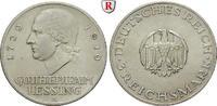 Gedenkprägungen 3 Reichsmark 3 Reichsmark 1929, A. Lessing. J.335.